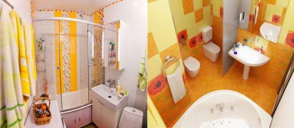 Стили для ванных в хрущевках